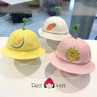 兒童防疫帽 寶寶漁夫帽春夏兒童帽子防飛沫薄款兒童防疫面罩太陽帽『xxs21397』【防疫必備】