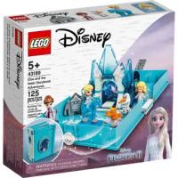 【LEGO 樂高】《 LT 43189 》迪士尼公主系列 - 艾莎與水靈諾克的口袋故事書(43189)
