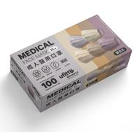 【善存】醫用口罩 未滅菌.雙鋼印-成人平面 幕夜系(25入/盒)