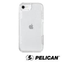 【PELICAN】美國 Pelican 派力肯 iPhone SE 第2代 防摔手機保護殼 Voyager 航海家 - 透明