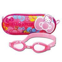 成功 A642 Hello Kitty 矽膠兒童泳鏡 蛙鏡 / A661 Hello Kitty 兒童矽膠泳帽