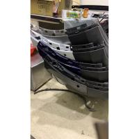 Tiguan VW 福斯 NEW Tiguan R-LINE 前保桿總成 水箱罩 中網 尾翼 後下擾流 雙出 後唇