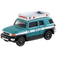 大賀屋 TOMICA 豐田 FJ巡邏車 多美小汽車 巡邏車 豐田車 汽車 模型 日貨 正版 L00010095