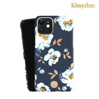 【Kingxbar】iPhone 11 / i11 施華洛世奇水鑽手機保護殼套(花季系列-梔子花)