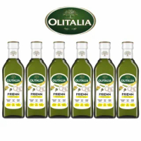 【Olitalia 奧利塔】高溫專用葵花油禮盒組(500mlx6瓶)