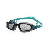 【SPEEDO】AQUAPULSE PRO 成人運動泳鏡-競技 訓練 游泳 海邊 蛙鏡 黑湖水藍(SD812266D642)