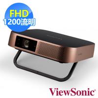 ViewSonic 優派   M2 FHD 3D 無線智慧微型投影機