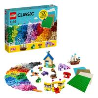【LEGO 樂高】經典系列 樂高積木底板創意盒 11717 積木 底板(11717)