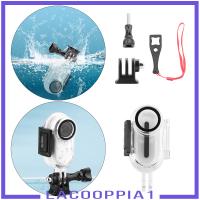 [LACOOPPIA1] 用於Insta360 Go2動作相機的潛水保護盒,帶螺釘部件