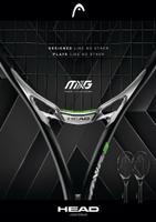 2017全新Head MXG3專業網球拍