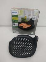 【原廠盒裝公司貨】PHILIPS HD9940 飛利浦健康氣炸鍋專用煎烤盤 煎魚盤 適用型號:HD9642