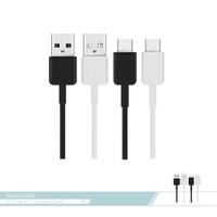 【SAMSUNG 三星】原廠 Type C to USB 9V 快充數據傳輸線(S10系列盒裝拆售)
