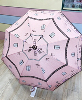 【震撼精品百貨】Hello Kitty 凱蒂貓~HELLO KITTY直傘-房間-60CM#85480