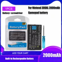 1pcs/lot 2000mAh 3.7V Rechargeable Li-ion Battery Pack for Nintendo 3DS LL/XL 3DSLL 3DSXL NEW 3DSLL NEW 3DSXL New 3DS XL Battery