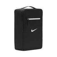 【NIKE 耐吉】鞋袋 Stash Shoe Bag 男女款 可收納 外出 旅遊 輕便 手提 黑 白(DB0192-010)