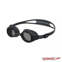 【SPEEDO】成人度數泳鏡 Hydropure(黑/灰)