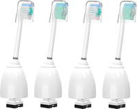 【美國代購】WuYan替換刷頭 4件裝電動牙刷頭替換適用於飛利浦Sonicare 刷頭