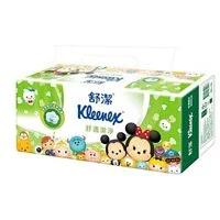 【舒潔】迪士尼舒適潔淨抽取衛生紙 100抽x12包x6串/箱(共72包) TsumTsum限定版