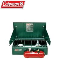 【露營趣】送CM-7043J 吸油管 Coleman CM-0391 413氣化雙口爐 汽化爐 野炊爐具