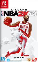 美琪 任天堂Switch遊戲卡 Ns NBA2K21 美國職業籃球2021 中文