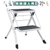 [收納達人秀]【日本東谷AZUMAYA】小巨人折疊多用樓梯椅-共3色《泡泡生活》工具梯 座椅 工業風 折疊收納 輕量化
