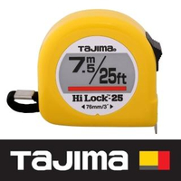 【Tajima 田島】7.5米 x 25mm/ 英吋捲尺(L2575FT)