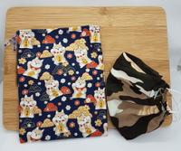 防疫商品 招財進寶 口罩收納袋 買五個再多送一個  輕鬆吃