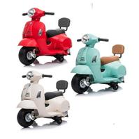 (現貨)946義大利《Vespa》迷你偉士牌電動玩具車-(迷你電動玩具車部落客推薦)【六甲媽咪】