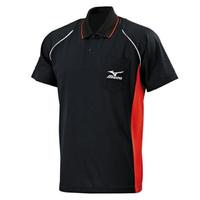 Mizuno [32TA702009] 男 短袖 POLO 衫 吸汗 速乾 運動 休閒 舒適 黑紅 M