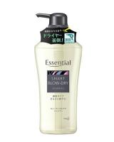 日本【花王】Essential 瞬效蓬鬆易乾洗髮精480ml