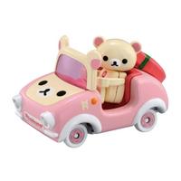 TOMICA 騎乘系列 R09 粉紅拉拉熊 【鯊玩具Toy Shark】