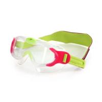 【SPEEDO】男女幼童進階面罩泳鏡-游泳 蛙鏡 抗UV 訓練 兒童(SD8087638028N)