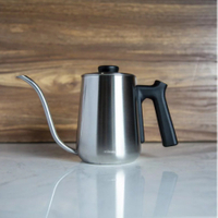 金時代書香咖啡 Minos  600ml 有蓋手沖壺 不銹鋼色 Minos-POC-600-SB