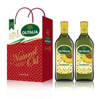 (老爹特惠)【奧利塔olitalia】葵花油1000ml (2瓶禮盒組) A270002x2