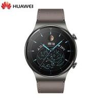 【HUAWEI 華為】Watch GT 2 Pro 46mm 血氧感測智慧手錶 真皮錶帶/時尚款(送原廠無線充電板+快充組等禮)