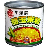 【牛頭牌Bull head】甜玉米粒340g易開