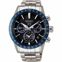 【SEIKO 精工】Astron 5X53 雙時區 鈦金屬GPS衛星定位錶(5X53-0AB0B  SSH001J1)