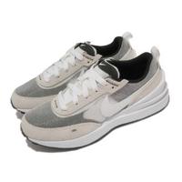 【NIKE 耐吉】休閒鞋 Waffle One PS 運動 童鞋 基本款 簡約 舒適 球鞋 中童 穿搭 灰 白(DC0480-100)