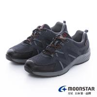 【MOONSTAR 月星】4E防水止滑系列-悠遊高機能鞋(深藍)
