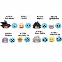 DRAGON BALL Z Son Goku Krillin Vegeta เอเฟซัสกางเกงว่ายน้ำ Android 13 18บล็อก Mini Action Figure MiniFigure ของเล่น
