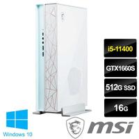 【MSI 微星】Creator P50 11SI-028TW 11代六核心創作者桌機(i5-11400/16G/512G SSD/GTX 1660S-6G/Win10)