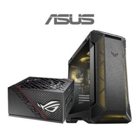 【ASUS華碩 機殼+750W電源】TUF Gaming GT501 Case 電腦機殼+ROG STRIX 750W金牌 電源供應器