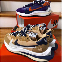 sacai x Nike Vaporwaffle 2021 DD1875-200 DD1875-500 卡其色 紫色現貨