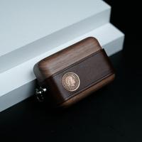 一皮一木 真皮創意適用于蘋果airpods12代耳機保護套pro3代保護殼