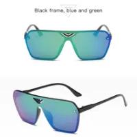 Colored film sunglasses Male and female sunglasses running man Sand prevention sports rider glass goggles sunglasses
