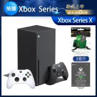 【Microsoft 微軟】★預購★Xbox Series X+3個月GP終極版+12個月金會員+3個月GP終極版+ 無線控制器_白x1