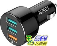 [9美國直購] AUKEY USB Car 車載充電器 42W Quick Charge 3 0 Car Charger for iPhone 11  iPad Pro, Samsung Galaxy Note10+ and More