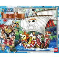 噗噗家玩具舍 [現貨]正版代理版 Bandai 航海王 海賊王 組裝模型 新世界篇 千陽號 Thousand Sunny
