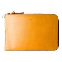 【Alto】iPad /Pro 11吋/ 10.5 吋 皮革收納包 – 焦糖棕(保護 iPad 的質感手拿包 附手腕繩)