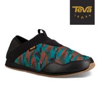 【TEVA】原廠貨 男 Ember Moc Canyon 防潑水菠蘿麵包鞋/休閒鞋/懶人鞋(GC100湖水藍-TV1106129GCCM)
